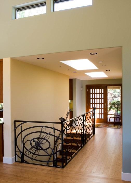 Skylit entryway
