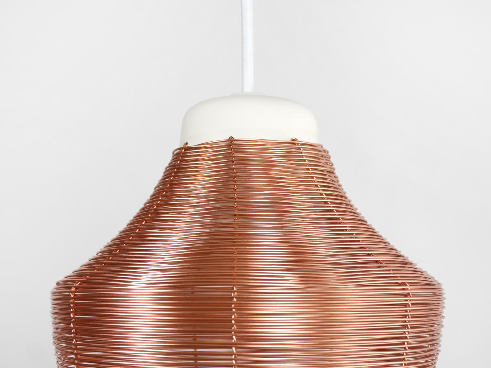 Wire Pendant Light Copper Pendant Lamp O Studio Lorier