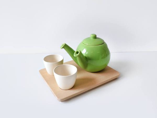 teagether 2015 isometric- beech tray - apple green - tea for 2-1