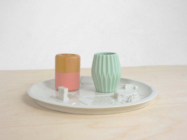 C08 - candles rotterdam bebouwde kom - city plate city dish - sushi plate - dish - studio lorier - keys platter - sharing food