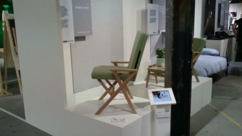 Automatic movement of the Hybrid Chair on our stand at the Dutch design week