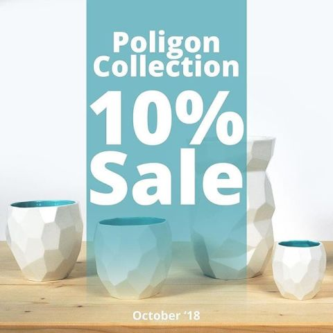 LAST WEEK 💥💥 to get the Poligon collection with 10% discount.💥💥