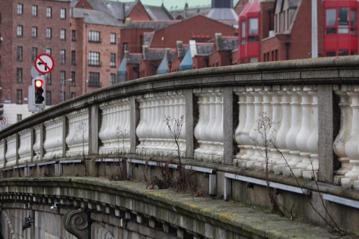 Father Matthew Bridge detail, River Liffey, Dublin.