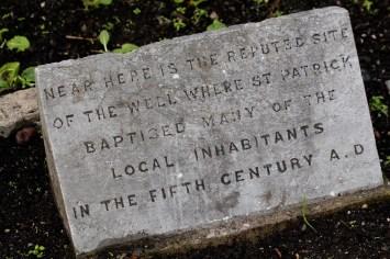 St. Patrick's well site, Dublin ©2015 Lucy Mathews Heegaard