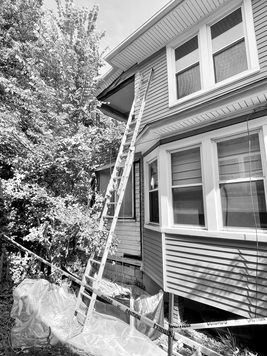 Lead renovation - siding removal