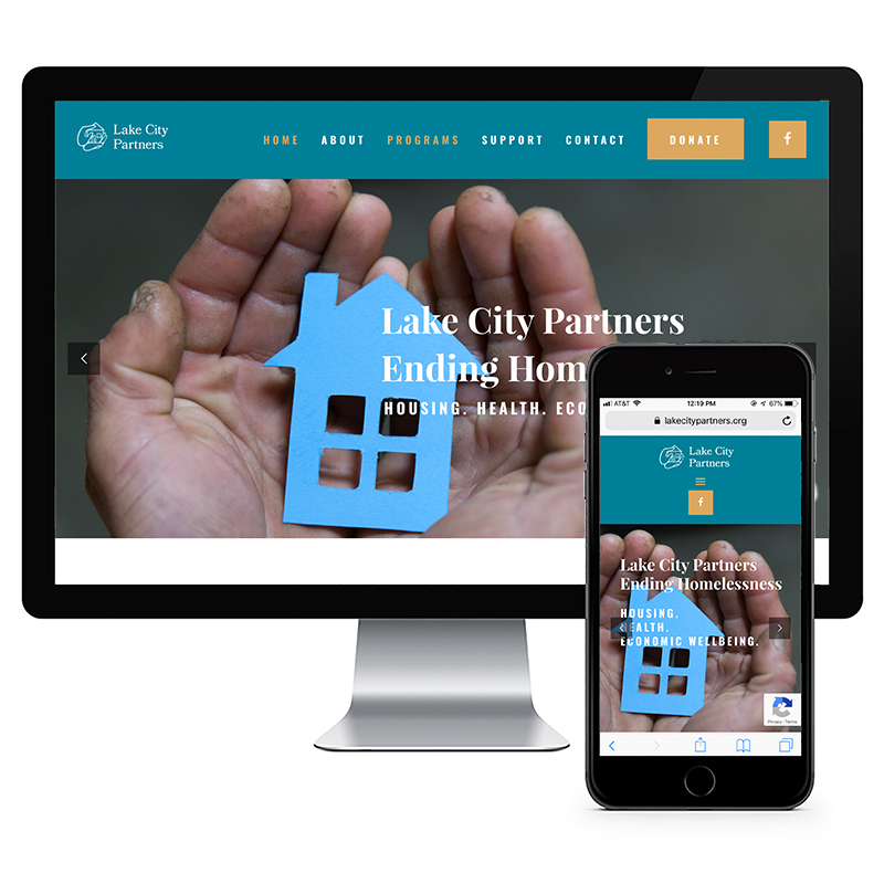 Lake City Partners website