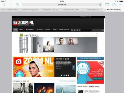 Publicatie website ZOOM.nl