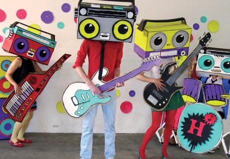 Stop-motion animation 'Cassette Boy'