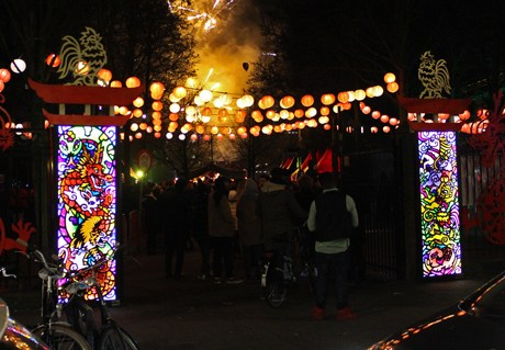 Zodiac Port entrance for Rotterdam Chinese New Year