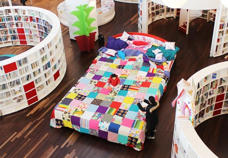 OBA100 Mega Book Bed