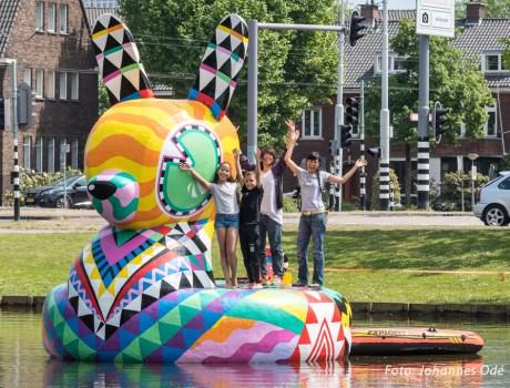 Badkonijn 2020, Vroesenpark, Rotterdam