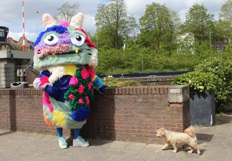 Fluffy Mascot for Banne