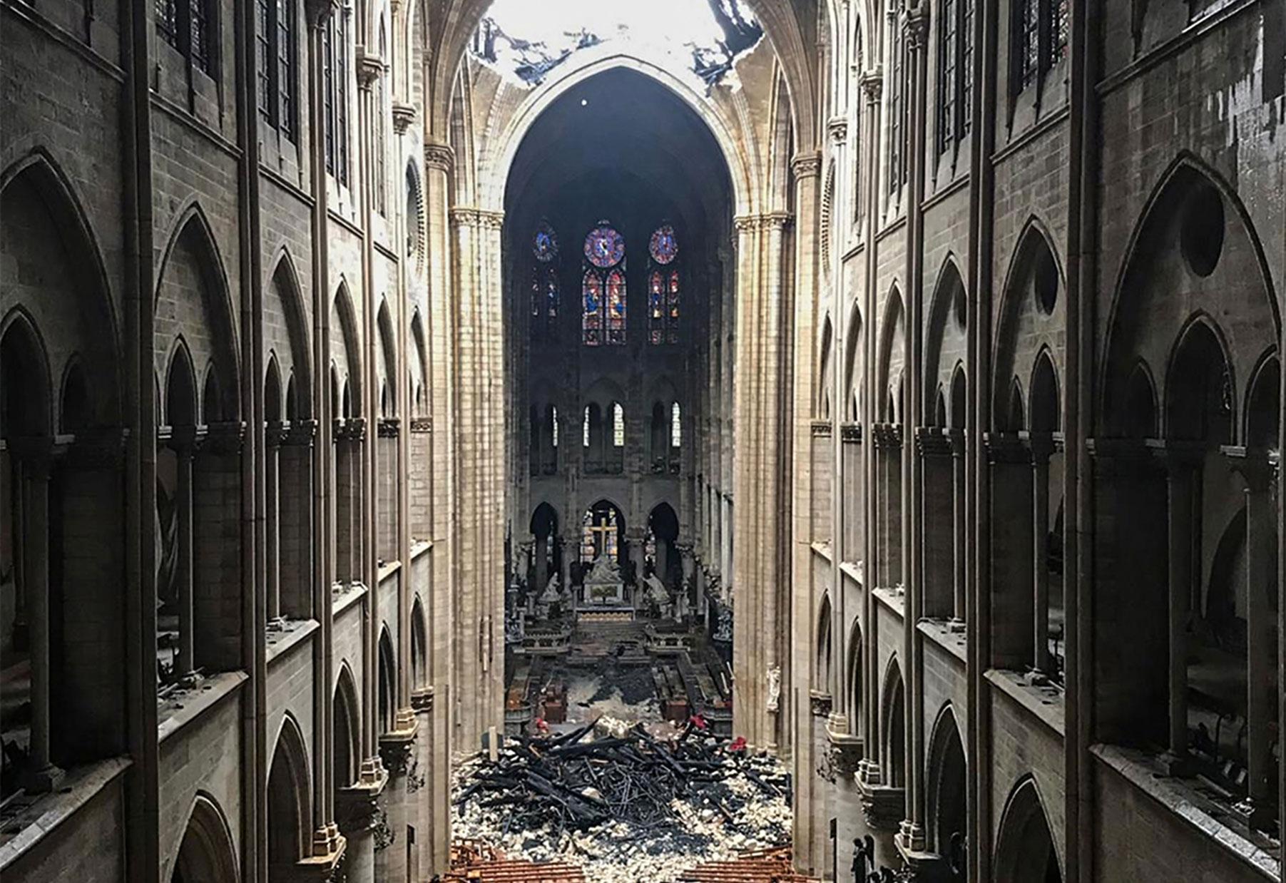 Tears For Notre Dame Few For Sri Lanka Maureen Mullarkey