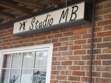 Studio MB sign