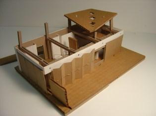 RISD Solar Preliminary Model - (Exploded) View of Interior