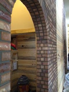 Master Archway to Bathroom