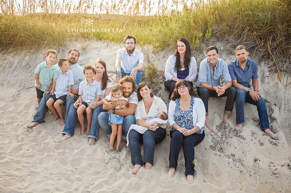 big_family_beach_portrait_nags_head_nc