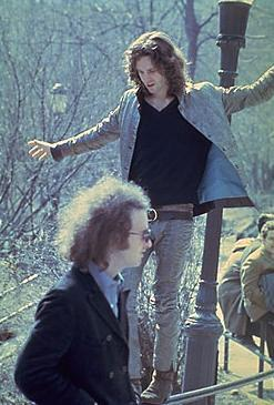 Jim Morrison & Robby Krieger, NYC Central Park, 1968