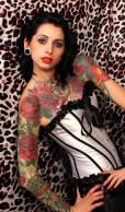 Emy Claire - Miss Tattoo Uk 2013 By Steve Upham of New Pixel Design