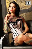 Emy Claire - Miss Tattoo Uk 2013 By DBranded