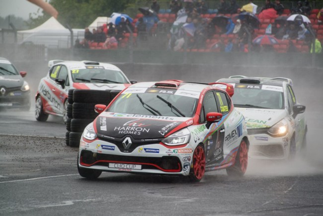 71 Max Coates Ciceley Motorsport Renault UK Clio Cup Croft 2017