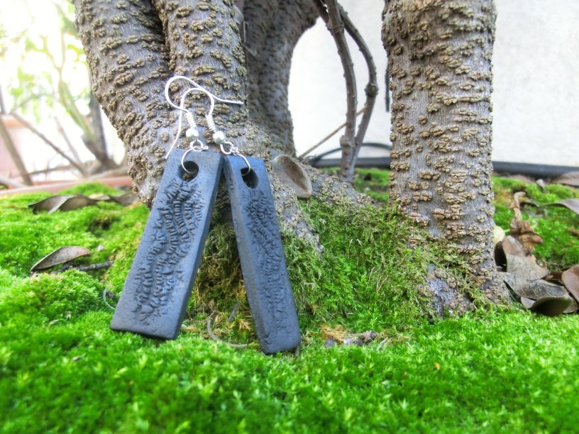 Bali texture earrings