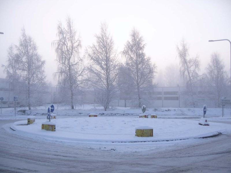 Roundabout, Helsinki Nov. 2005
