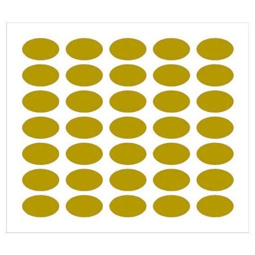 Etichette per bomboniere ovale 35x21