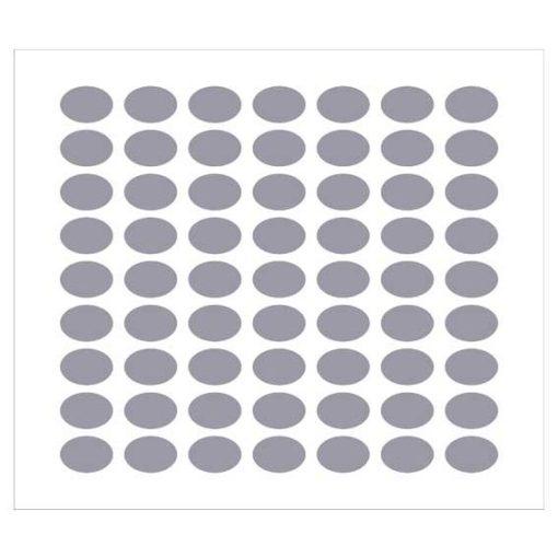 Etichette per bomboniere ovale 23x16