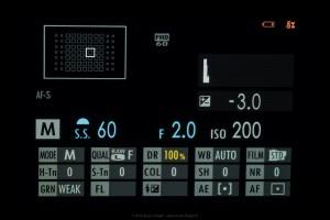 Ecran général du X-Pro 2