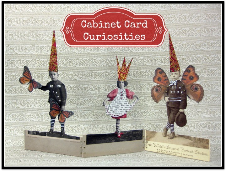 Cabinet Card Curiosities Ad