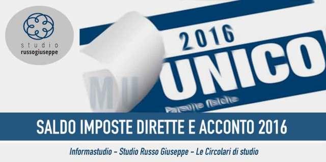 SALDO-IMPOSTE-DIRETTE-E-ACCONTO-2016-studiorussogiuseppe