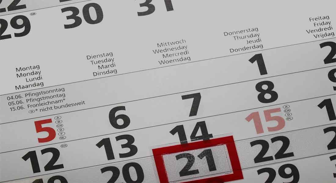 Scadenze Fiscali Al 21 Agosto E Invio Dichiarazioni Al 31 Ottobre