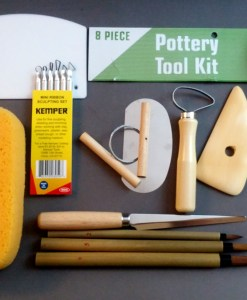 Student Pottery Tool Kit