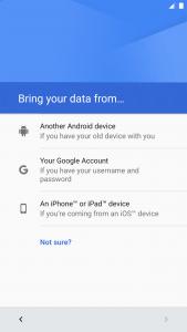 Migrar de iOS a Android Nougat