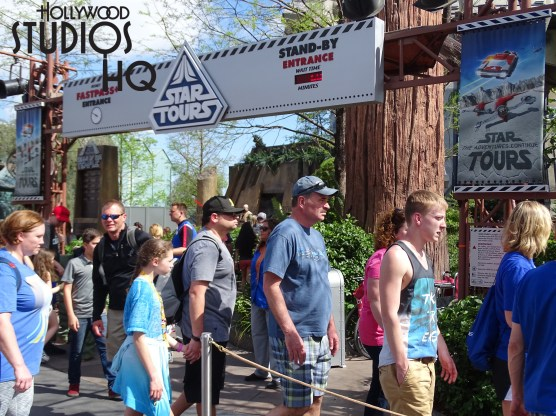 Welcome to the first Address of April with spring break crowds flourishing throughout the Park. Guests will find every attraction utilizing their extended line cues this week including Star Tours at Disney's Hollywood Studios. Photo by John Capos