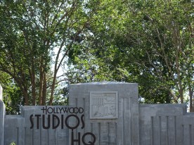 """More tree foliage appears as the Star Wars: Galaxy's Edge continues to build. Guests may notice a new line of trees recently planted by Disney at the end of Grand Avenue stretching from the Muppet Vision 3-D building all the way to the end of the Harmony Music Store. This addition compliments the tree line already in place at the end of Pixar Place. This new landscaping is another indicator that the attraction's grand opening is no longer """"far, far away…"""". Disney's Hollywood Studios. Photo by John Capos"""