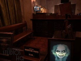 Guests traveling on the Twilight Zone Tower of Terror have a limited opportunity for a special lenticular print photo of their family once they are back on the ground floor at the end of the attraction near the photo desk. For $19.95 during the next 3 months, a guest's keepsake Tower of Terror photo will provide an illusion of depth or even change and move when viewed from different angles. Be sure to take advantage of the pilot promotion during the next 3 months. Disney's Hollywood Studios. Photo by John Capos
