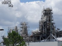 Star Wars: Galaxy Edge was cleared for landing by Disney with the announcement of the Batuu Planet opening now scheduled for late Fall 2019. Meanwhile, construction continues with main building wall enclosure work as well as additional metal structure placement on roofs. Until the final landing date, stay tuned to Hollywood Studios HQ for the latest updates! Disney's Hollywood Studios. Photo by John Capos