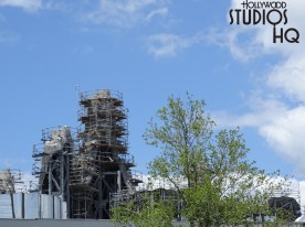 Star Wars: Galaxy Edge was cleared for landing by Disney with the announcement of the Battu Planet opening now scheduled for late Fall 2019. Meanwhile, construction continues with main building wall enclosure work as well as additional metal structure placement on roofs. Until the final landing date, stay tuned to Hollywood Studios HQ for the latest updates! Disney's Hollywood Studios. Photo by John Capos