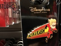 Guests can now commemorate the upcoming Incredibles 2 motion picture release next month with the very first available selection of themed Disney pins for this new film in the Park. Entire family member pin sets as well as individual pins of Edna and other Incredibles characters entice shoppers visiting this Animation Courtyard shop location. As pictured below, there is even a Mr. Incredibles and Mrs. Incredibles pin set for couples to share in the fun. Disney's Hollywood Studios. Photo by John Capos