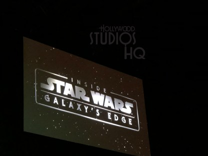 Below is an exclusive video from front row seating at the May 27 Star Wars: Galaxy's Edge Panel. Present were Walt Disney Imagineers who introduced the Black Spire Outpost which will be the largest settlement on the future plant Batuu at Disney's Hollywood Studios. Included are life size photos shared by the Panel of incredible full scale AT-ATs that will be part of one of the immersive attractions that will astound fans. Below readers will learn how these Imagineers have reached out to resources throughout the world to help create the planet Batuu. Continue to visit Hollywood Studios HQ for timely and accurate coverage of all exciting Disney Hollywood Studios events. Photo by John Capos