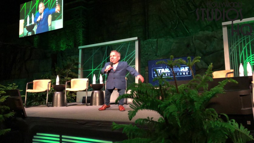 Warwick Davis at Star Wars: Galactic Nights at Disney's Hollywood Studios. Photo by John Capos