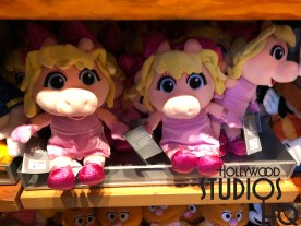 Guests will find a new array of Muppet Babies plush taking the merchandise stage this week at Stage One Company. These popular characters are featured daily on Disney's Junior Television. Selections include adorable Miss Piggy arrayed in her traditional pink dress. Kermit is clothed in blue shorts with a white polo. Fozzie Bear fans can take home this favorite Muppet Babies character complete with bright red shorts, yellow shirt and coordinating bow tie. Disney's Hollywood Studios. Photo by John Capos