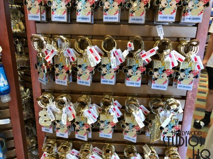 Guests shopping for new key chains at the Dark Room will find brand new themed Mickey and Minnie selections. Disney's Hollywood Studios. Photo by John Capos