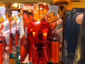 Children will enjoy the new Iron Fist light up bubble maker now on sale throughout the Park. Disney's Hollywood Studios. Photo by John Capos