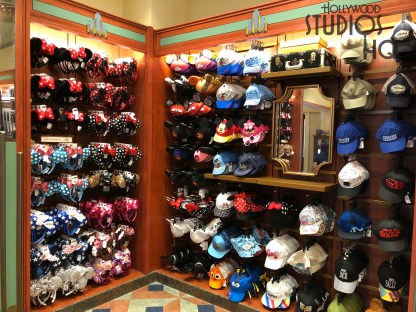 This hat store connected to the Celebrity Five and Dime on Hollywood Blvd. has closed to guests. The store's original selection of Mickey ears and themed hats are now available to shoppers on The Cover Story shelves. No word from Disney yet regarding future plans for the Adrian & Edith location. Disney's Hollywood Studios. Photo by John Capos