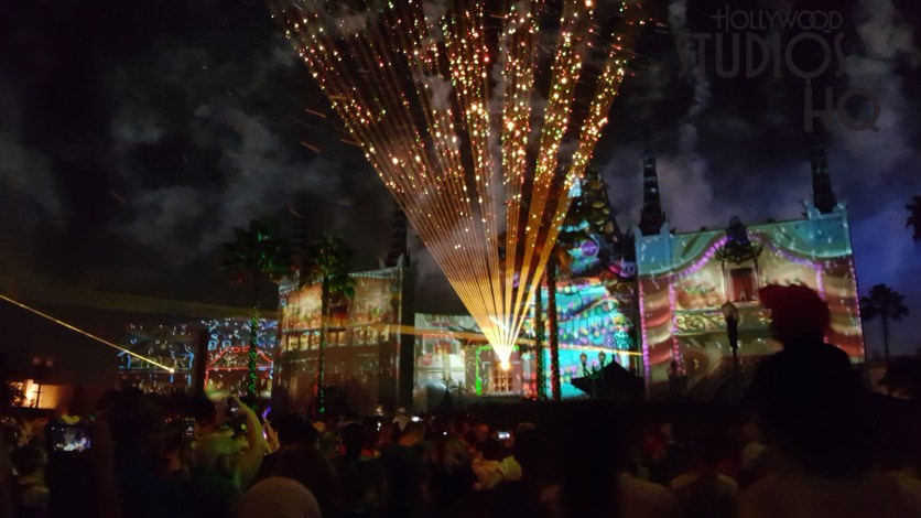 Just in time for the holiday season, the limited-time night spectacular entertains guests with special effects, projections, dazzling fireworks, and snow. The show begins nightly on center stage at 8:30pm. Count on Hollywood Studios HQ to cover all the latest holiday events. Disney's Hollywood Studios. Photo by John Capos