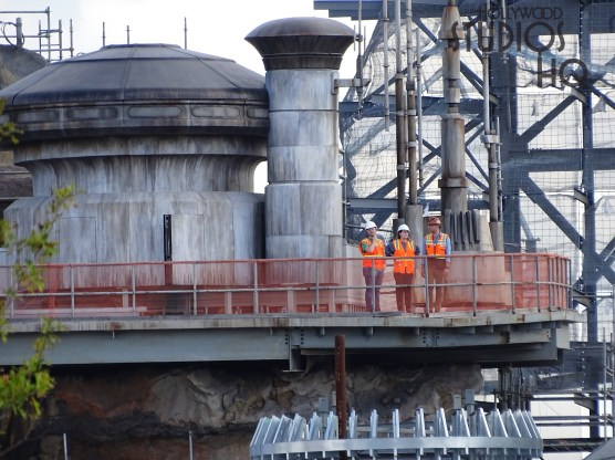 Contractors continue ongoing structural work for the Planet Batuu. Photos below capture contractors and Disney officials surveying the project. Hollywood Studios HQ is the number one source for the most up to date news and photos. Star Wars: Galaxy's Edge. Photo by John Capos