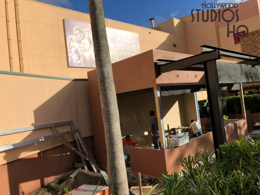 Construction workers are actively completing a new structure located immediately outside the future Metroville city block . No indication at this time what this building will host. Stay connected with Hollywood Studios HQ for the latest news. Disney's Hollywood Studios. Photo by John Capos